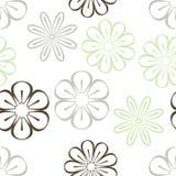 Fleurs stylisées Photographie stock