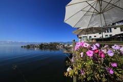 Fleurs sur le lac Erhai de Yunnan Image libre de droits