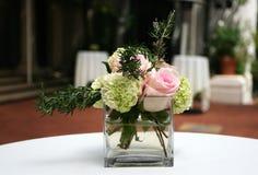 Fleurs sur le mariage Image libre de droits