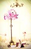 Fleurs sur un bâton Photo libre de droits