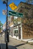 Fleury Street Photo stock