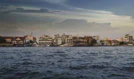 Fleuve à Bangkok Photo libre de droits