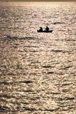 Fleuve 10 (pêche de Vanchin d'or) Images libres de droits
