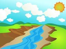 Fleuve Illustration Libre de Droits