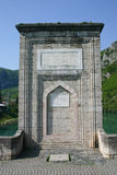 fleuve antique de drina de passerelle Photos stock