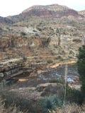 Fleuve Arizona de sel Images libres de droits