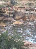 Fleuve Arizona de sel Images stock