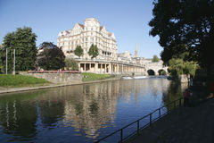 Fleuve Avon à Bath images libres de droits