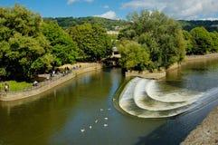 Fleuve Avon à Bath image stock