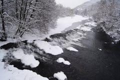 Fleuve blanc Photographie stock libre de droits