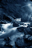 Fleuve bleu Photo libre de droits