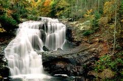 fleuve chauve d'automnes Images libres de droits