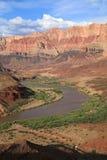 Fleuve Colorado d'enroulement photographie stock