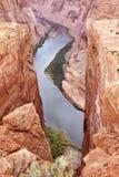 Fleuve Colorado Près de page Arizona images stock