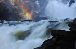 Fleuve d'arc-en-ciel Images libres de droits