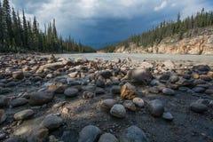Fleuve d'Athabasca Image stock