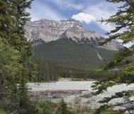 Fleuve d'Athabasca photos stock
