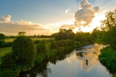 fleuve d'aweg Photo libre de droits