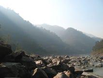 FLEUVE D'INDIA.GANG (3) Photos libres de droits
