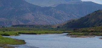 Fleuve dans le Colorado photographie stock