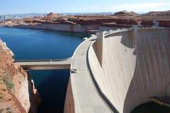 fleuve de barrage du Colorado Images libres de droits