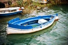 fleuve de bateau image stock