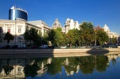 Fleuve de Bucarest - de Dambovita Photos stock
