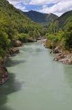 Fleuve de Buller - Murchison, Nouvelle Zélande Image stock