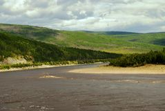 fleuve de côtes Photographie stock libre de droits