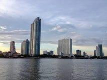 Fleuve de Chao Phraya image stock
