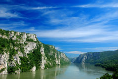 fleuve de Danube Photographie stock