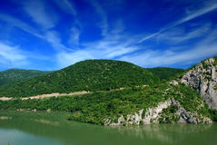 fleuve de Danube Photo stock