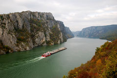 fleuve de Danube Photo stock