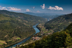 Fleuve de Drina photo libre de droits