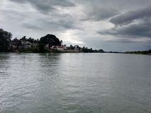 Fleuve de Ganga Photo libre de droits