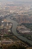 Fleuve de Garonne autour de Toulouse photographie stock libre de droits