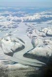 Fleuve de glace photos stock