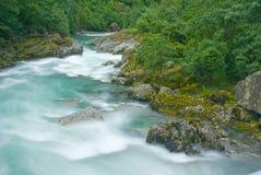 Fleuve de glacier Images libres de droits