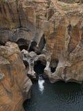 fleuve de gorge de l'Afrique du sud Image stock
