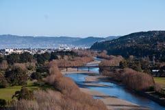 fleuve de Hutt Photos libres de droits