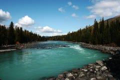 fleuve de kanas photo libre de droits