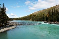 fleuve de kanas Images libres de droits