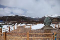 Fleuve de Minjiang Photos libres de droits