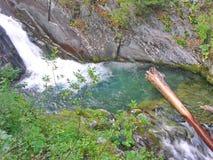 Fleuve de montagne Image libre de droits