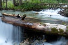 Fleuve de montagne Photographie stock libre de droits