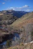 Fleuve de montagne Photos libres de droits