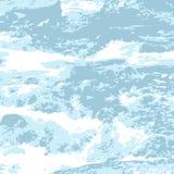 Fleuve de montagne illustration stock