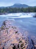 Fleuve de Namsen par Namsskogan, Norvège Photographie stock libre de droits