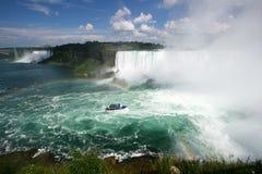 Fleuve de Niagara Photos stock