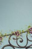 fleuve de peinture à l'huile d'horizontal de forêt Photographie stock libre de droits